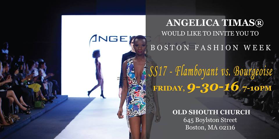 Angelica Timas - Boston Fashion Week 2016