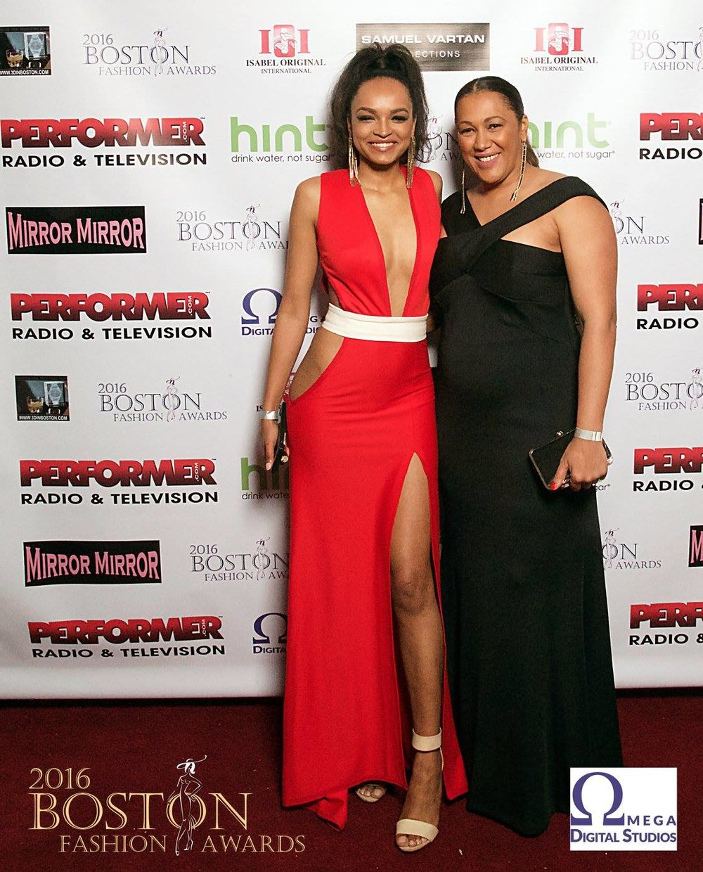 Boston Fashion Award 2016 - Model: Tirzah Evora & Designer Angelica Timas