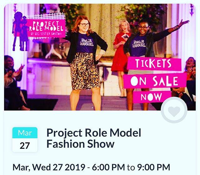 #projectrolemodel #boston #fashionshow #bigsister