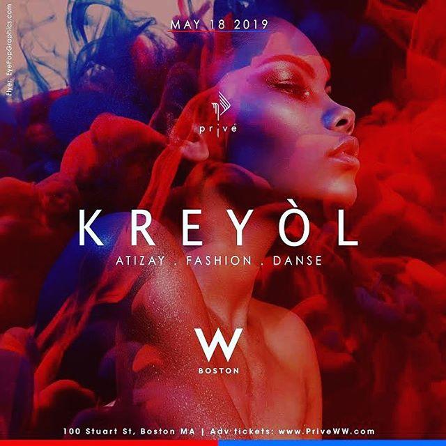 Seriously contemplating flying home for this. #kreyol #iamkreyol #boston #fashionshow #privenewengland #whotel #marriottbonvoy