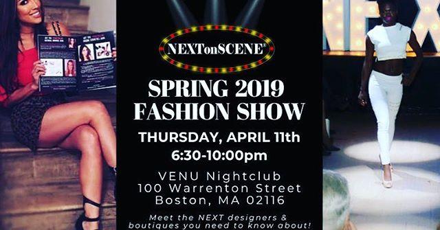 #nextonscene #boston #fashionshow #venunightclub