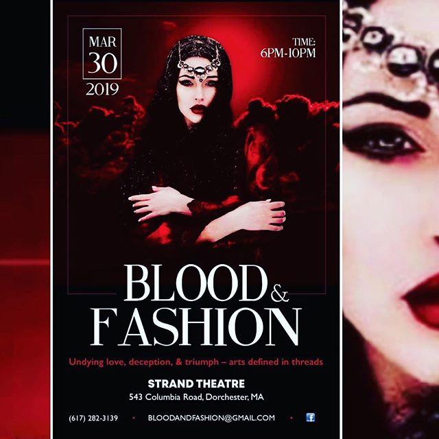 #boston #fashionshow #bloodandfashion #shakhrluiscouture
