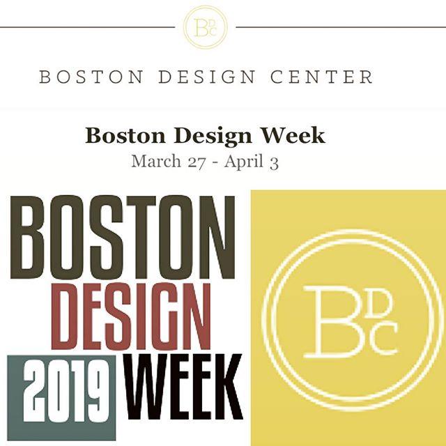 #bostondesignweek #boston #2019