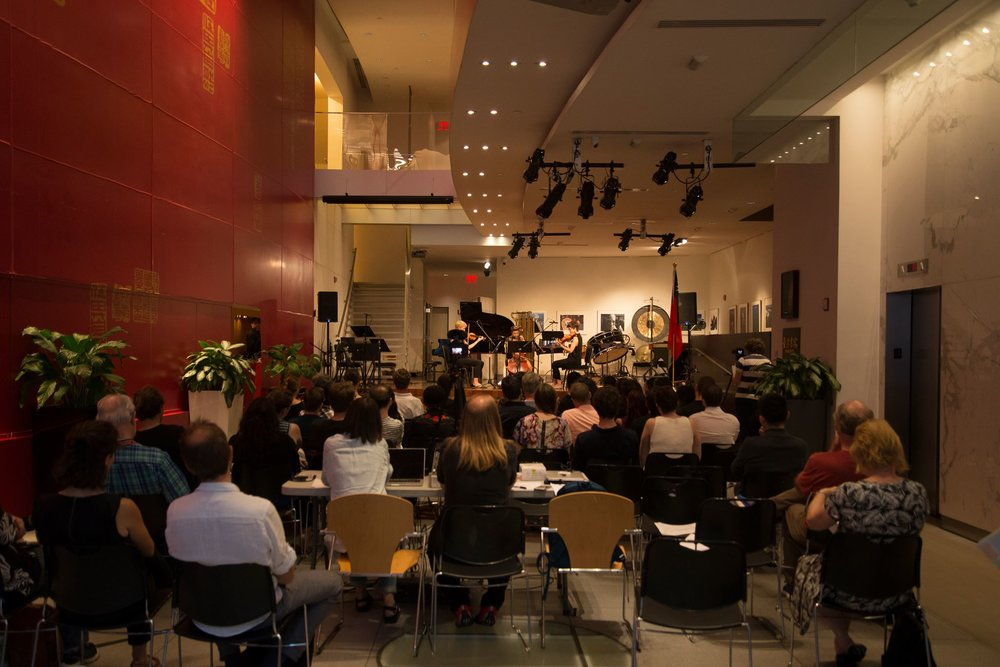 NEW MUSIC MARATON - June 30th, 2018The MISE-EN MUSIC FESTIVAL 2018 culminates in a new music marathon:ensemble mise-enwill perform a series of concerts featuring the works of 15 contemporary composers spanning 11 countries, including 14 premieres.