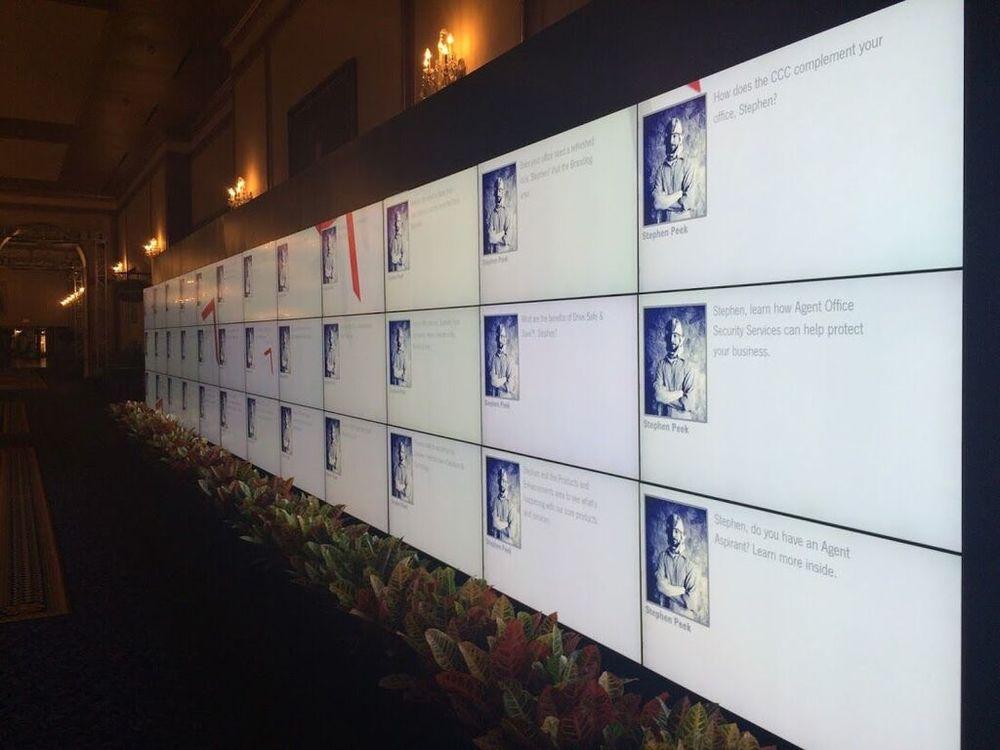 Gramercy Tech RFID Reaction Wall