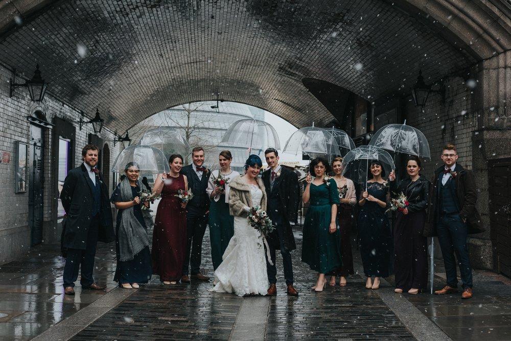 Bridal Party London- Photo by Jay Tunbridge