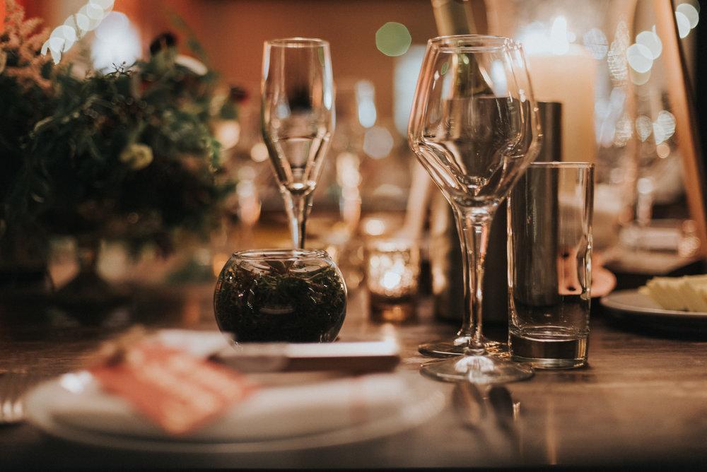 Succulent wedding favours- Photo by Jay Tunbridge