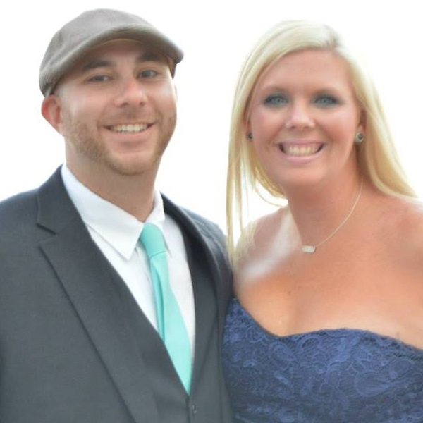 Scott and his wife Brandee