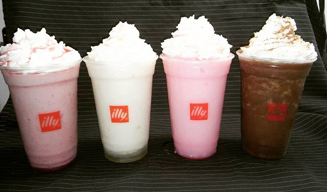 Polar Chillers Are Here!!!! Stop by and try one today! Strawberry Coconut, Peach Vanilla, Bubblegum, Raspberry Chocolate. #livehappilly #coffeeislife☕️ #cafefashionplace