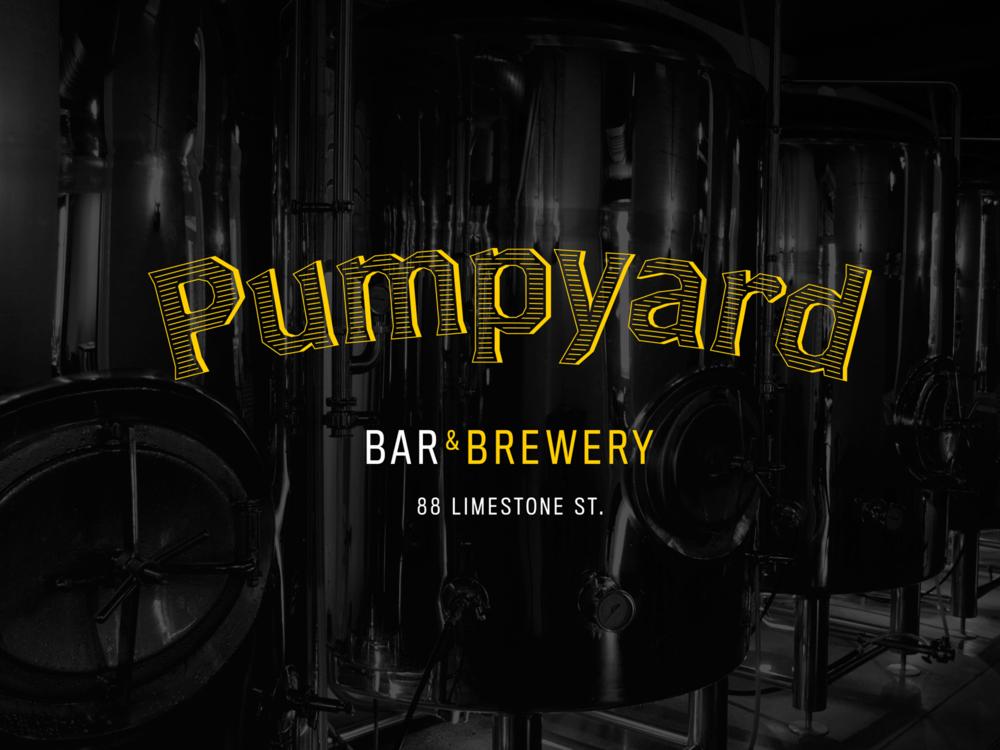 Pumpyard Bar & Brewery Brand Design