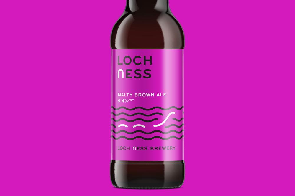 Loch Ness Brewery Brand Design