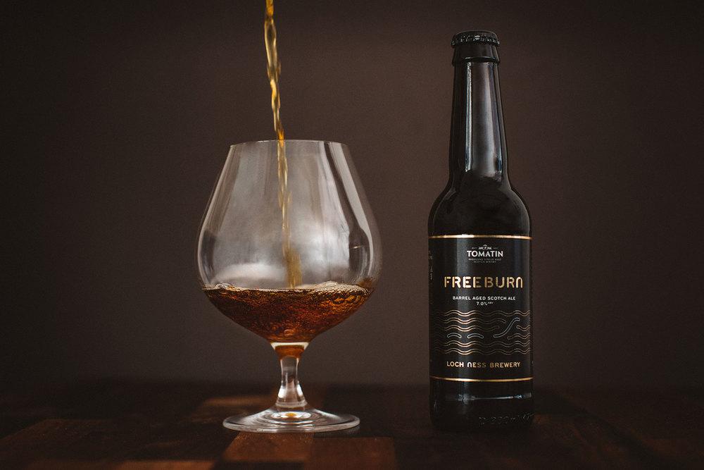 Tomatin Distillery x Loch Ness FreeBurn
