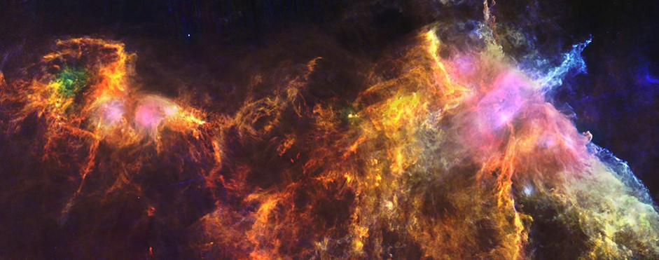 Image credit: ESA/Herschel/PACS, SPIRE/N. Schneider, Ph. André, V. Könyves (CEA Saclay, France) for the 'Gould Belt survey' Key Programme