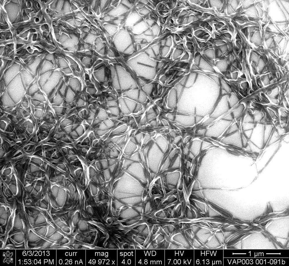 Nanofiber net
