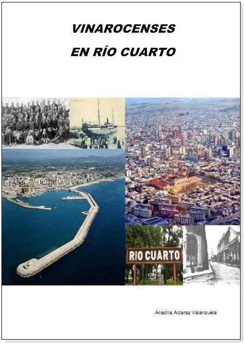 """Accesit """"Vinarocenses en Rio Cuarto"""" Ariadna Alcaraz Valanzuela, Juan David Gil Gonzálezy Ana Lloret Urbano."""