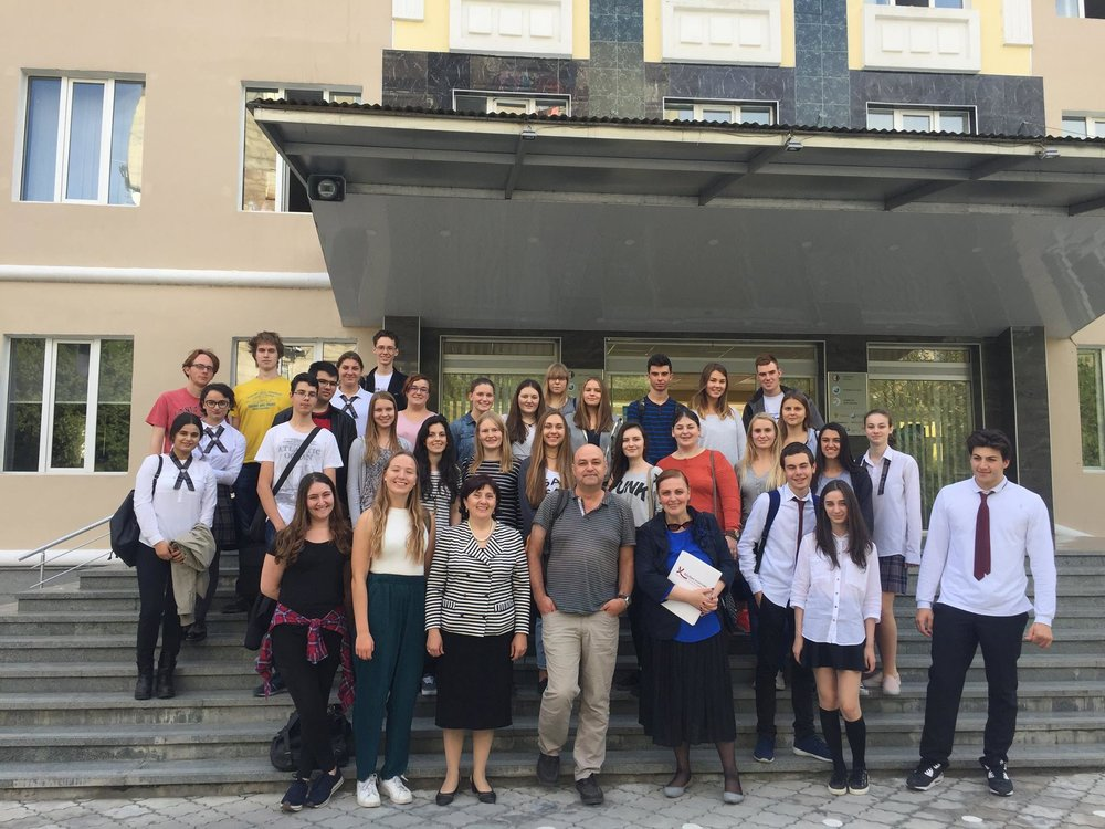 "Participantes europeos del campus ""United or Divided in Diversity?"" en Georgia"