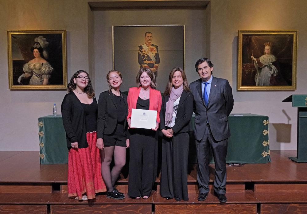 Estudiantes chilenas en la ceremonia - © Centro Imagen Ronda