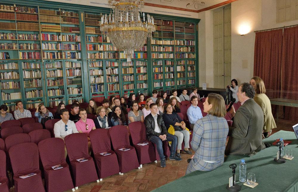 Sesión de bienvenida por la organización de EUSTORY - © Centro Imagen Ronda
