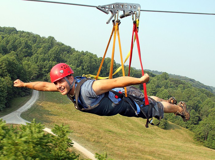 Hocking Hills Zip Line