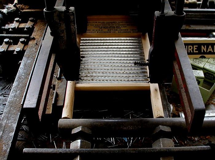 Washboard Factory Tour
