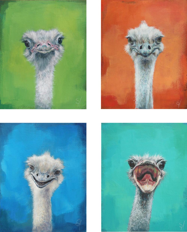Francine, Ned, Otto, & Squawk