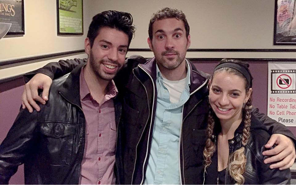 Martin Amini, Mark Normand, and Liz Miele