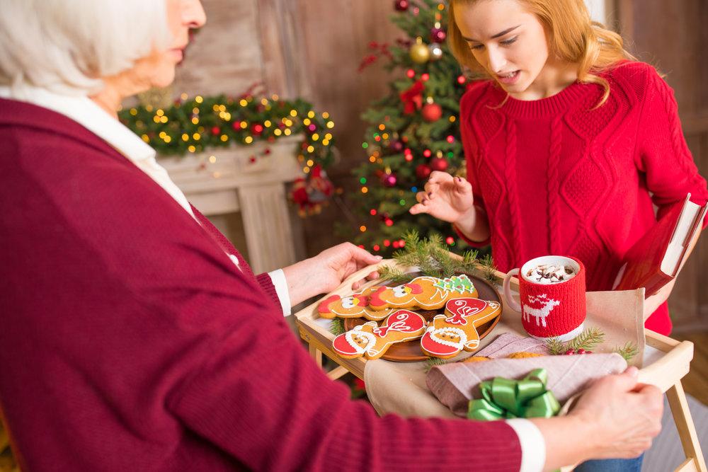 Grandma offering xmas cookies.jpg