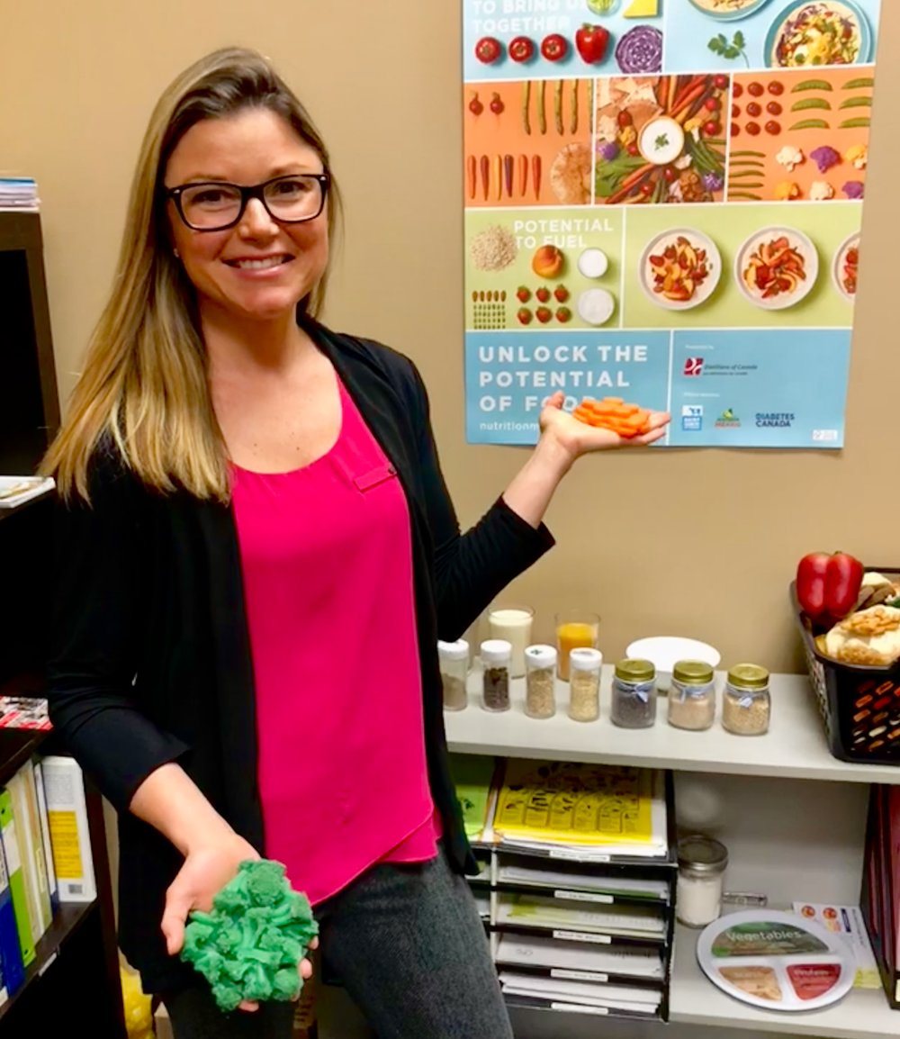 Jen Moodie, RD  Registered Dietitian and food model enthusiast
