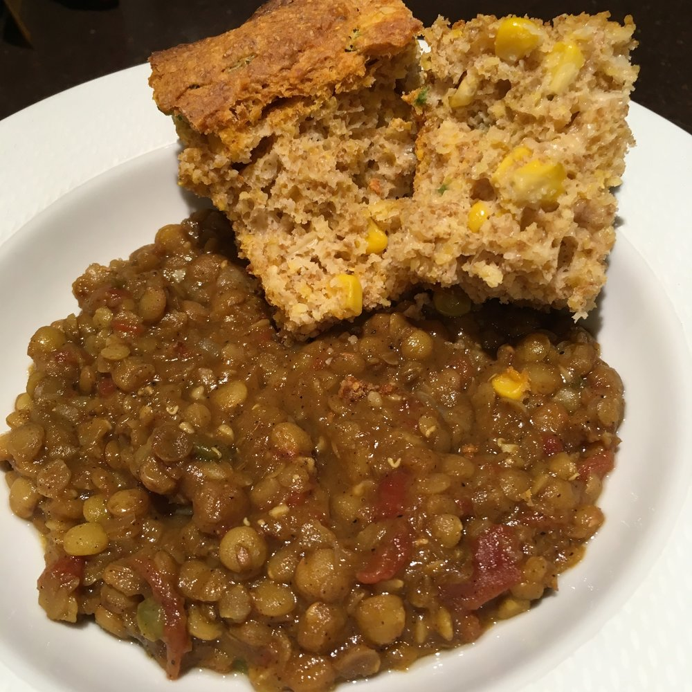 Our lentil dal recipe is loaded with fibre!