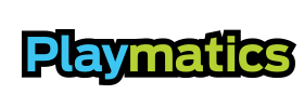 Playmatics logo.