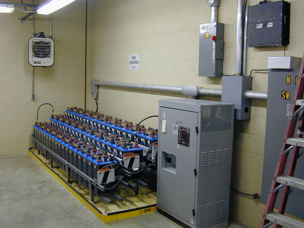 S5 Battery Monitoring System on a substation battery string