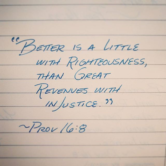 Prov 16:8 #proverbs_by_hand #proverbs #bibleverse #bible #handwriting #handwritten #fountainpen #fountainpens