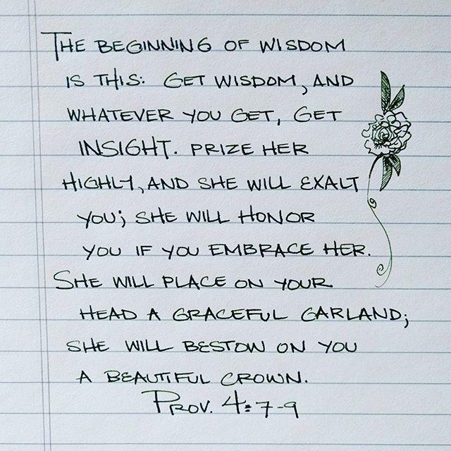TWSBI Micarta. #proverbs #proverbs_by_hand #bible #bibleverse #handwriting #handwritten #calligraphy #fountainpen #fountainpens #wise #wisdom #beauty #garland #crown #head #embrace #twsbi #twsbimicarta #micarta