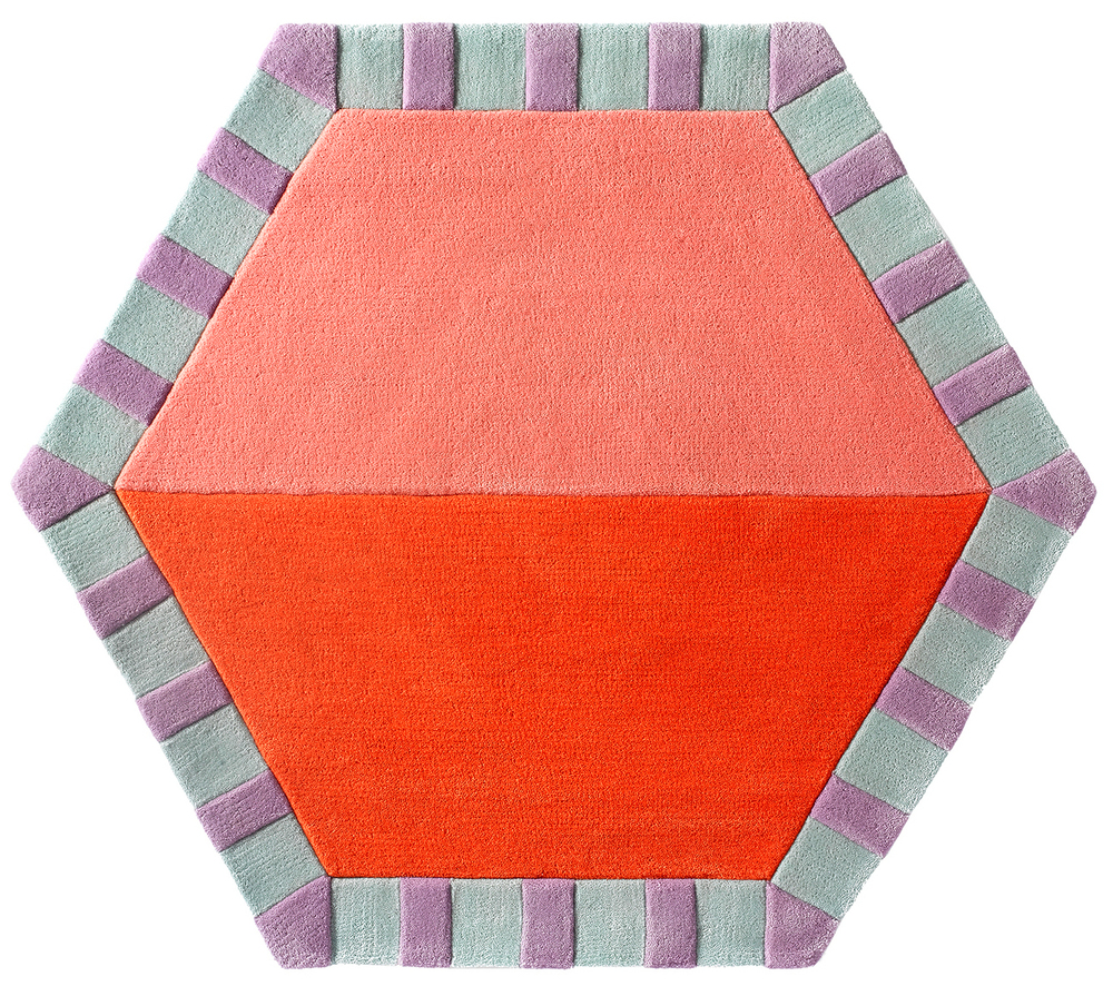 Cotton Candy / Tangerine Color Split CWKG-HEX-201