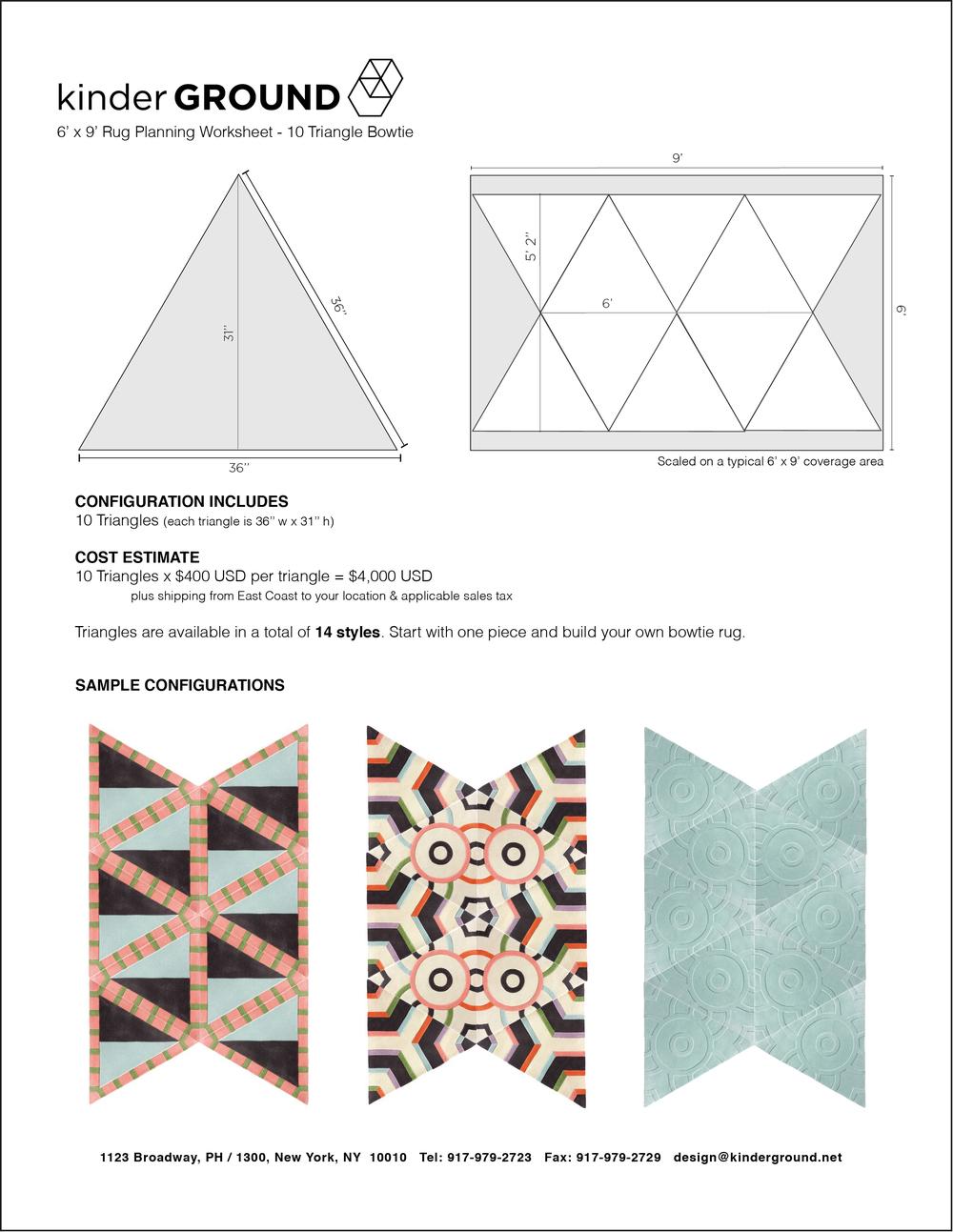 10-Triangle Bowtie