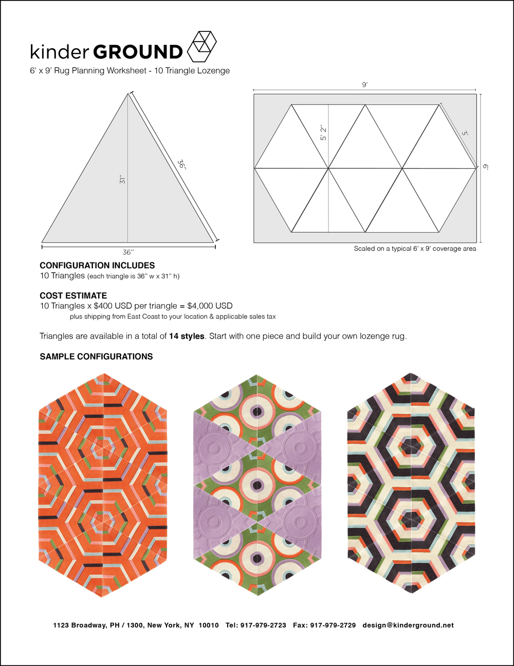10-Triangle Lozenge