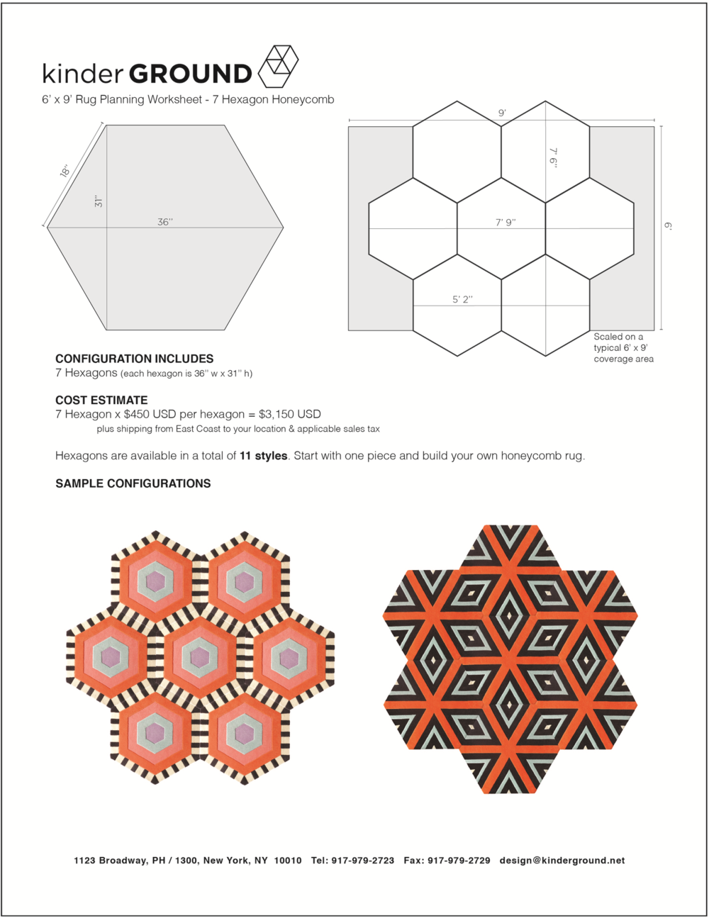 7-Hexagon Honeycomb