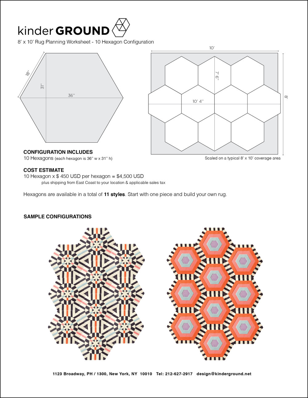 10-Hexagon Configuration
