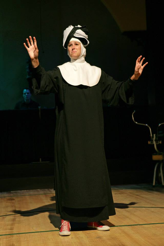 "Sister Robert Anne in ""Nunsense"""