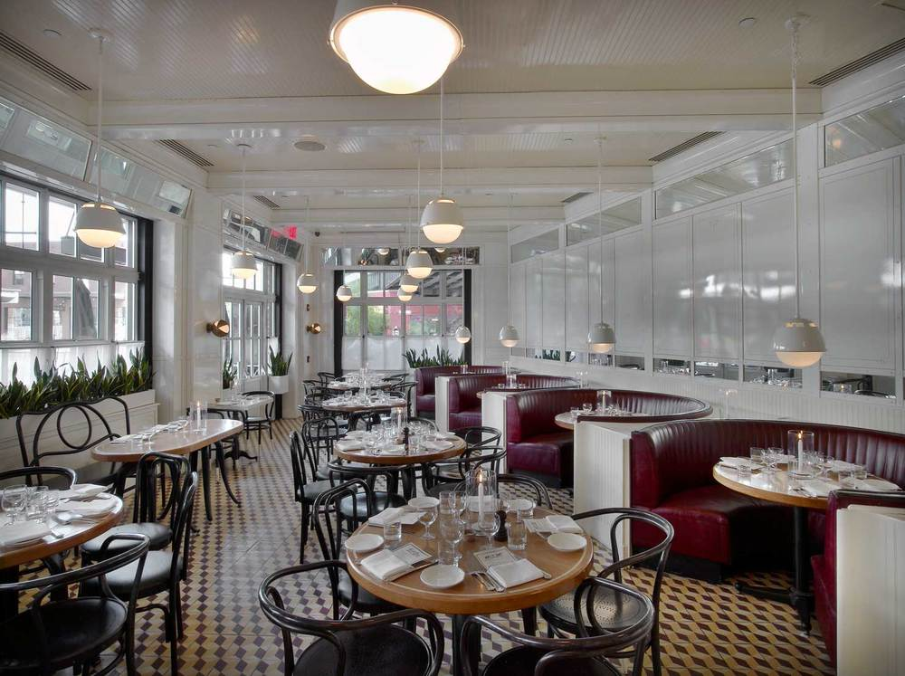 The standard grill new york — roman and williams