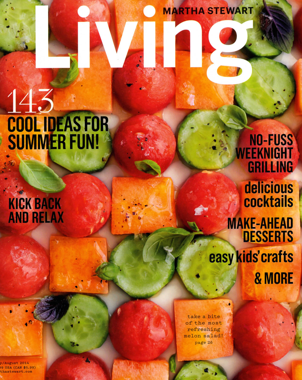 Martha Stewart Living – July 2014