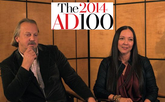 Architectural Digest, AD100 2014 – Sept. 2014 (Video)