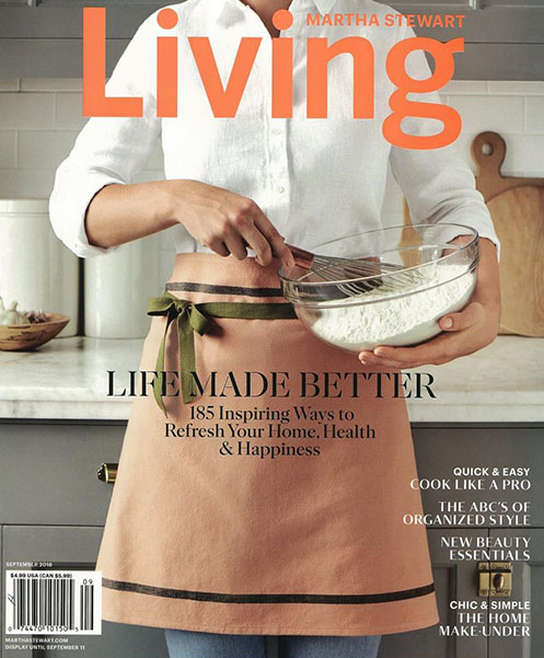 MARTHA STEWART LIVING   SEPTEMBER 2018