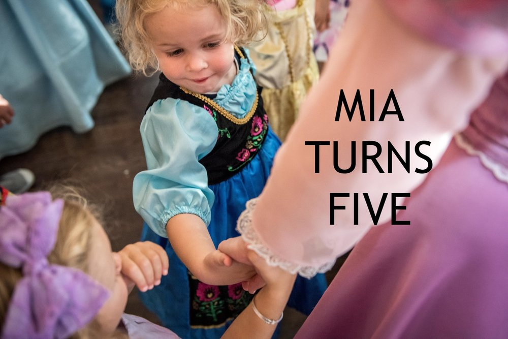 Mia Turns Five