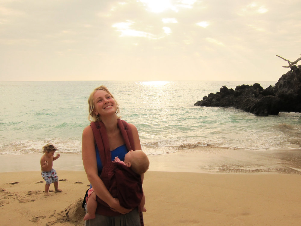 2012 - eloise, our big island baby