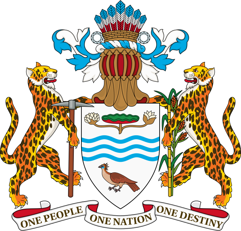 Guyana's Coat Of Arms