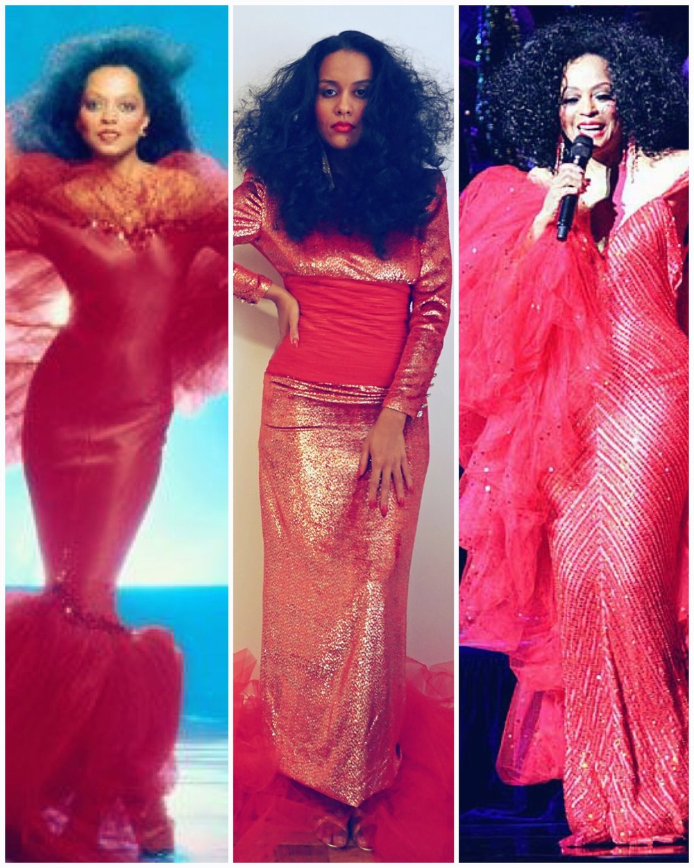 diy halloween costume diana ross