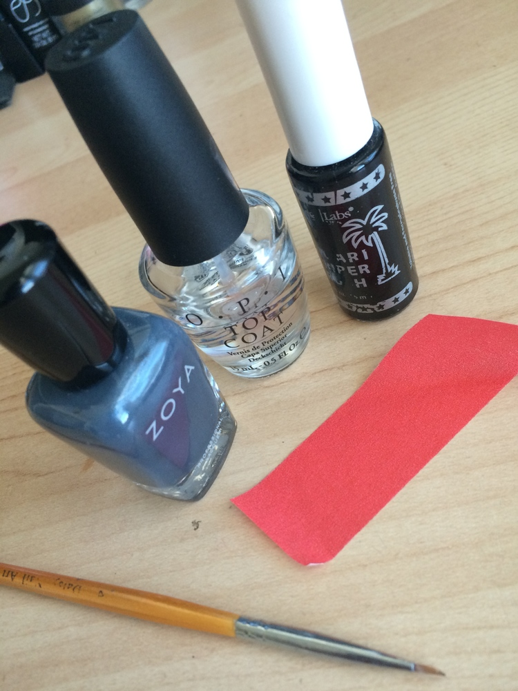 How To Create Negative Space Nails Angelie Herreria