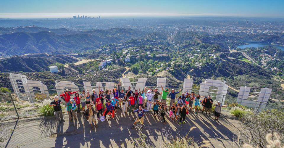 Los Angeles, CA - Hollywood Sign Hosted by Pasadena Hiking Pacers RSVP HERE Facebook
