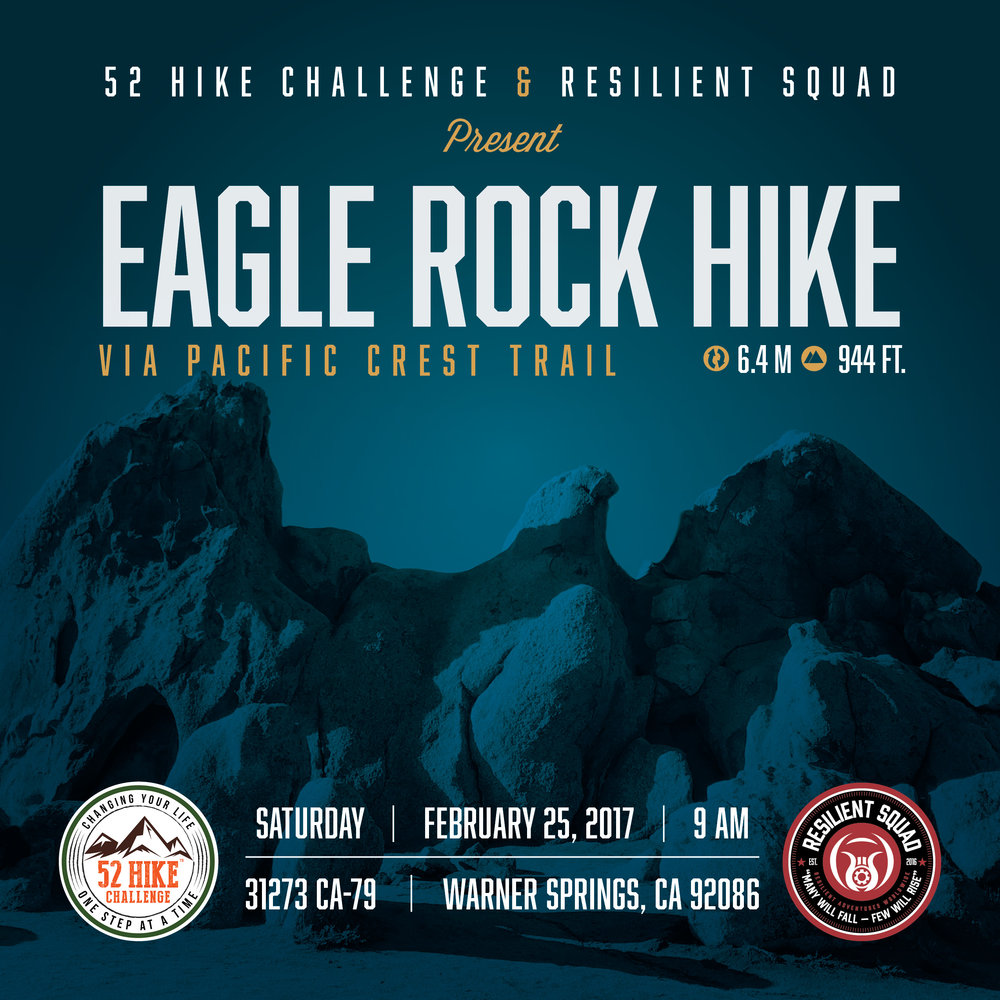 52 Hike Challenge   Resilient Squad Pop-Up Hike to Eagle Rock. Saturday ... 174f5029b64d5